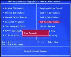 Odzyskiwanie hasła BIOS Acer